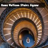 Rome Vatican Stairs Jigsaw